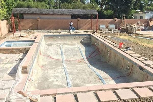 روش های ساخت استخر شنا