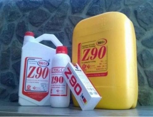 آب بندی استخر با z90 و SA12