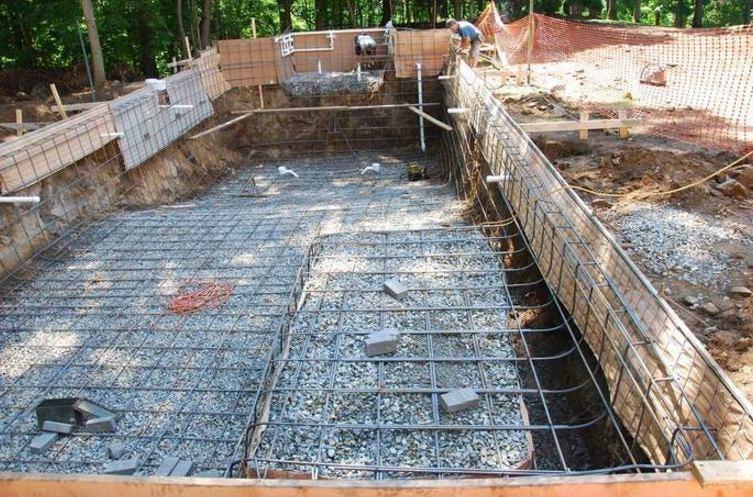 ساخت استخر با بلوک