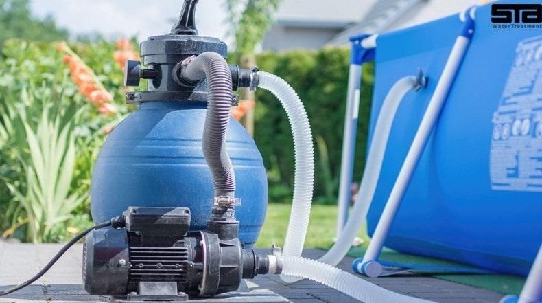 فیلتر تصفیه آب استخر خانگی
