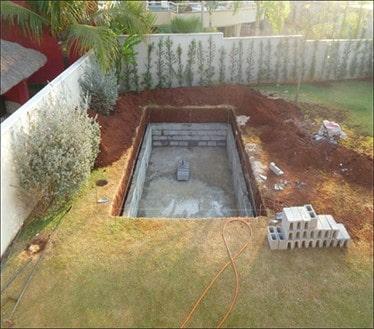 ساخت استخر در باغ